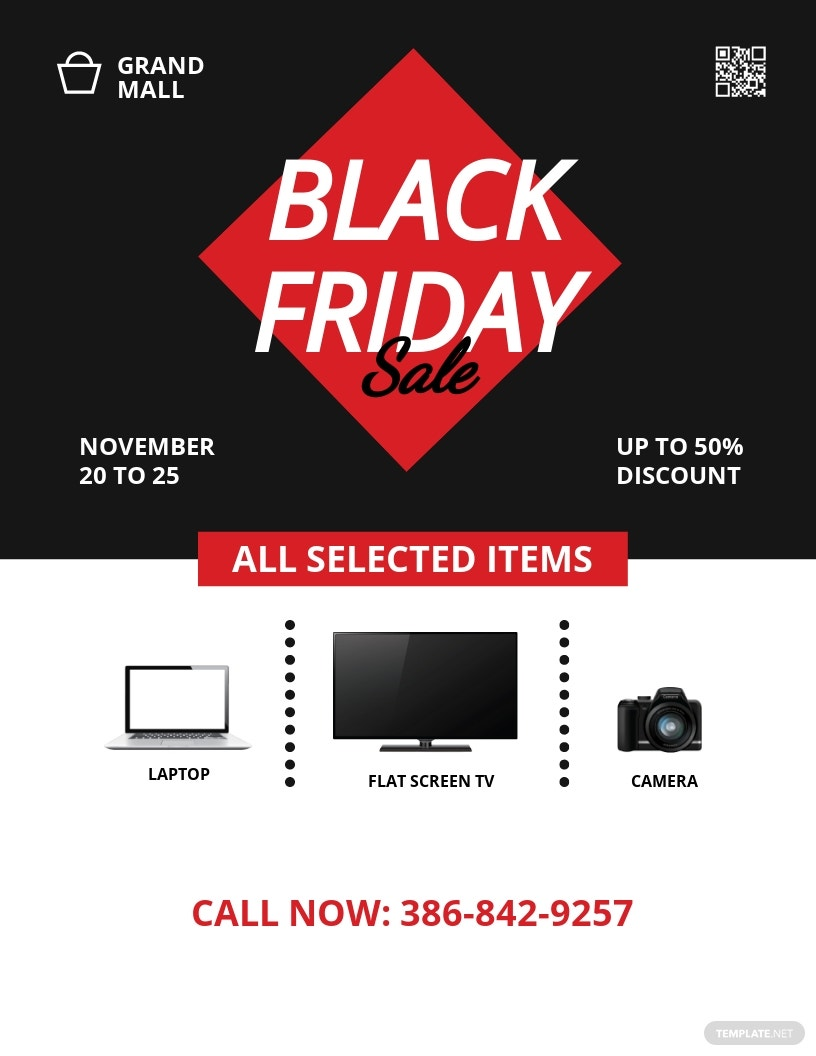 Black Friday Big Sale Flyer Template.jpe