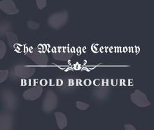 Free Wedding Bifold Brochure Template