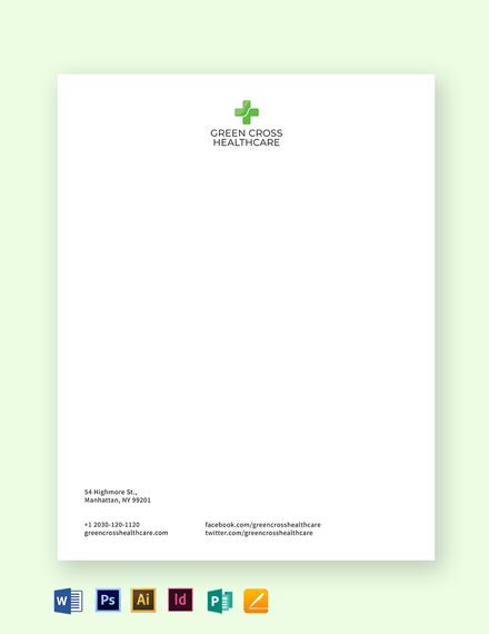 healthcare letterhead
