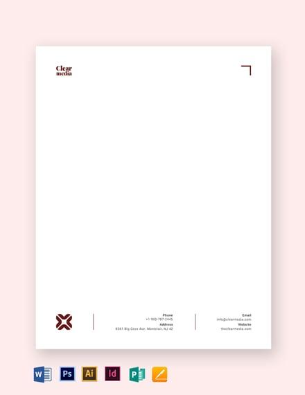 media letterhead