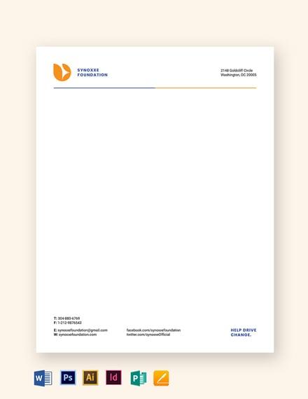 ngo letterhead