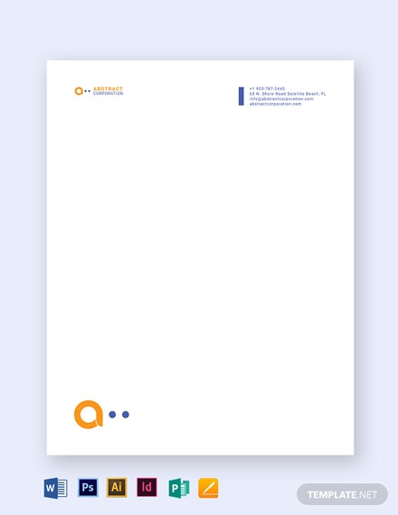 printable business letterhead