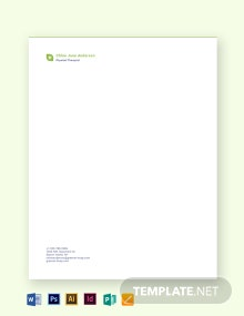Therapist Letterhead Template