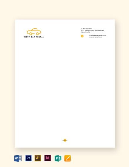 transport letterhead