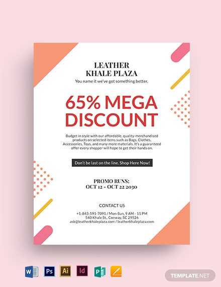 Big Sale Offer Promotion Flyer Template