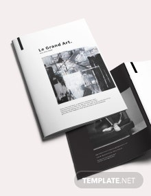 Elegant Art Magazine Template