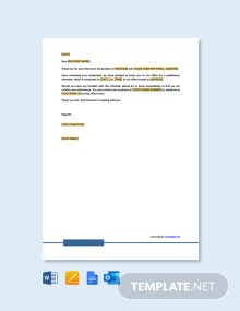 Free Formal Interview Letter