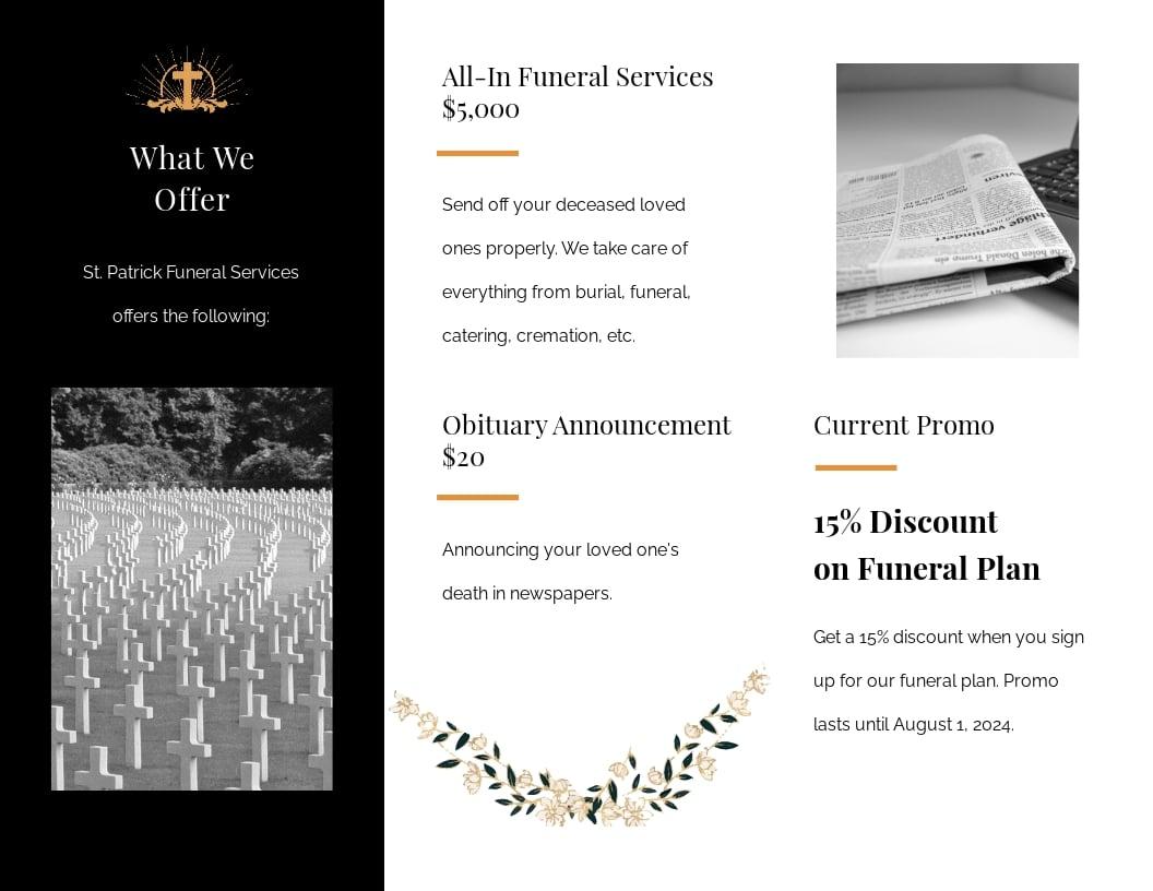 Catholic Funeral Service Tri Fold Brochure Template 1.jpe