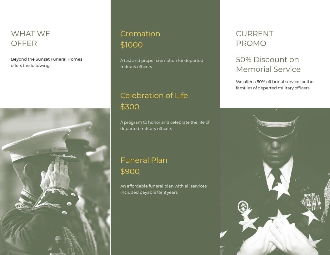 Military Eulogy Funeral Tri Fold Brochure Template 1.jpe