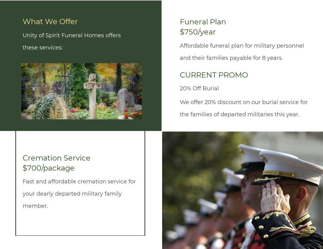 Military Funeral Program Bi Fold Brochure Template 1.jpe