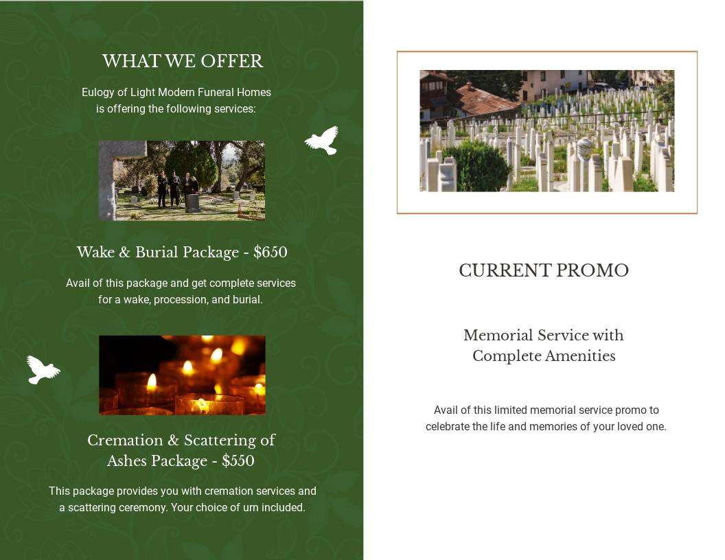 Modern Eulogy Funeral Bi Fold Brochure Template 1.jpe
