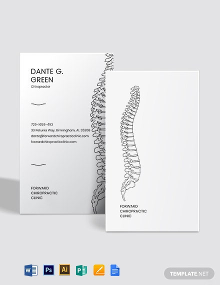 Spine Business Card Template