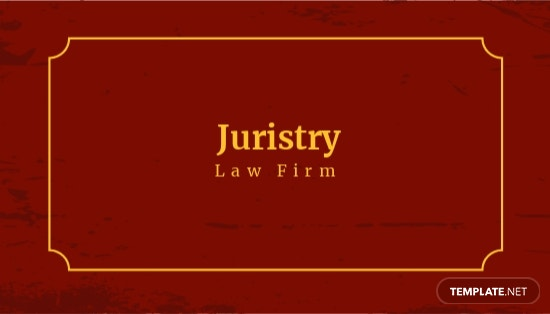 Vintage Law Firm Business Card Template.jpe