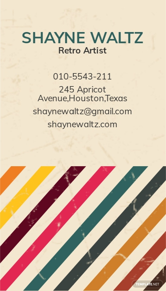 Vintage or Retro Business Card Template 1.jpe