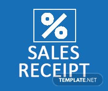 Free Simple Sales Receipt Template