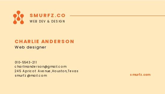 Web Designer Business Card Template 1.jpe