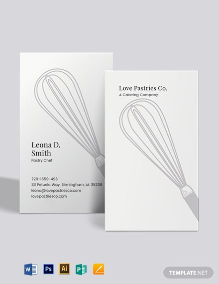 Whisk Business Card Template