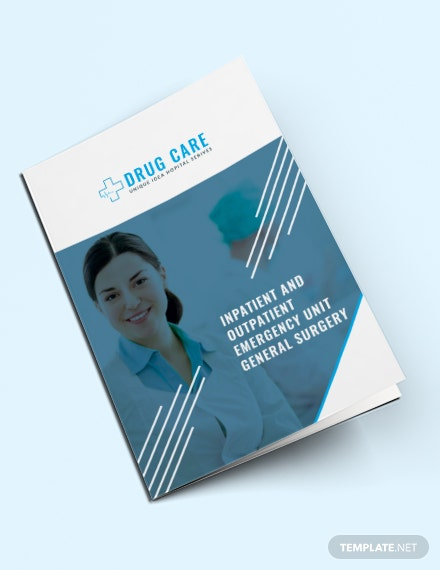 Free Drug Care A3 Bifold Brochure Template Download 263 Brochures