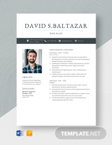 Book Buyer Resume Template