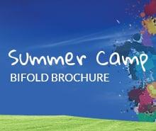 Free Summer Camp Bifold Brochure Template