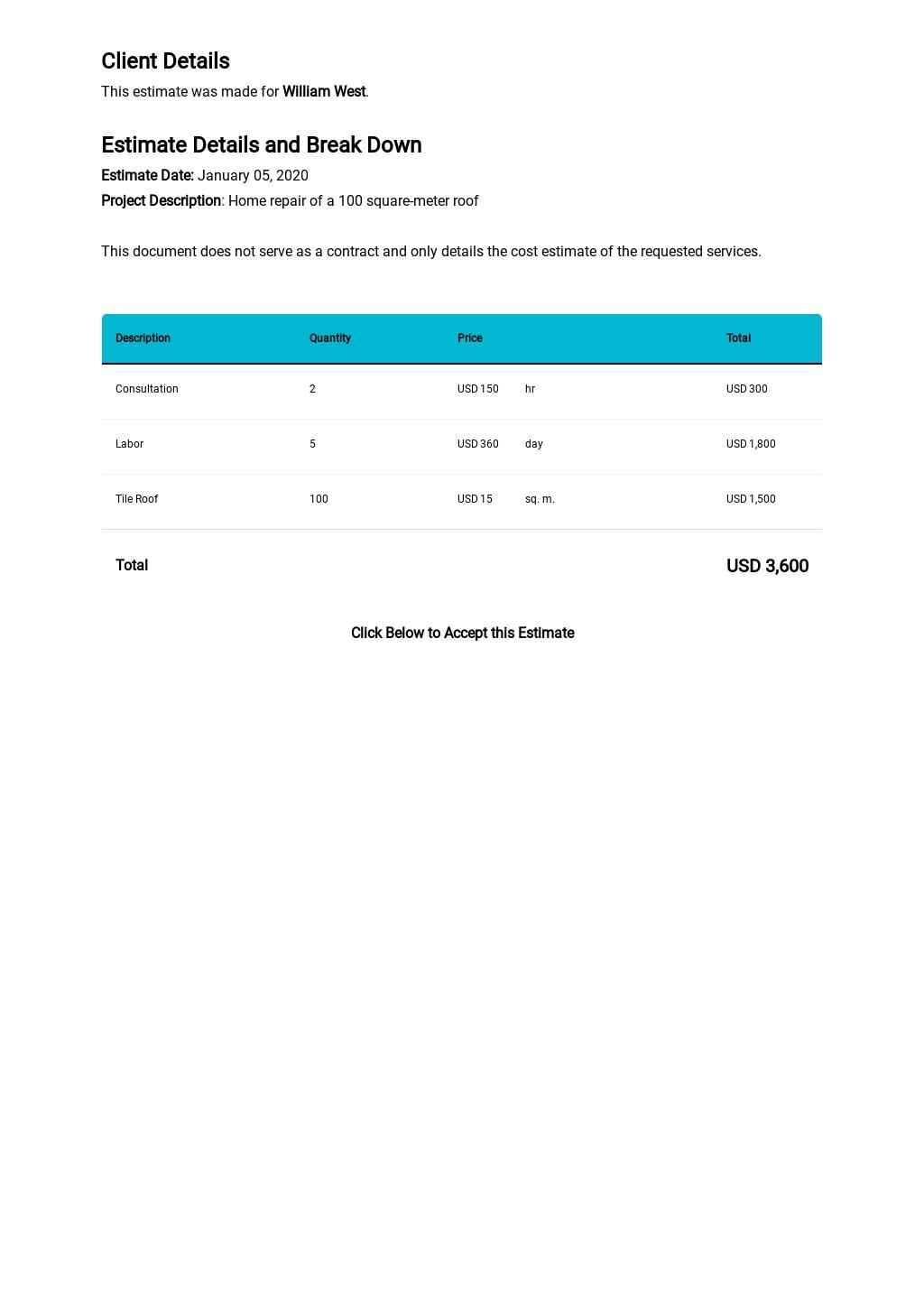 Home Repair Estimate Template 1.jpe