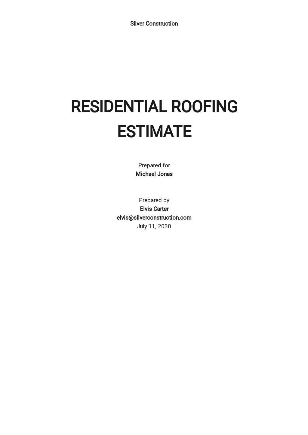 Residential Roofing Estimate Template.jpe