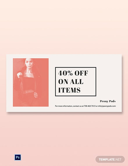 Free Fashion Sale Expo Blog Post Template