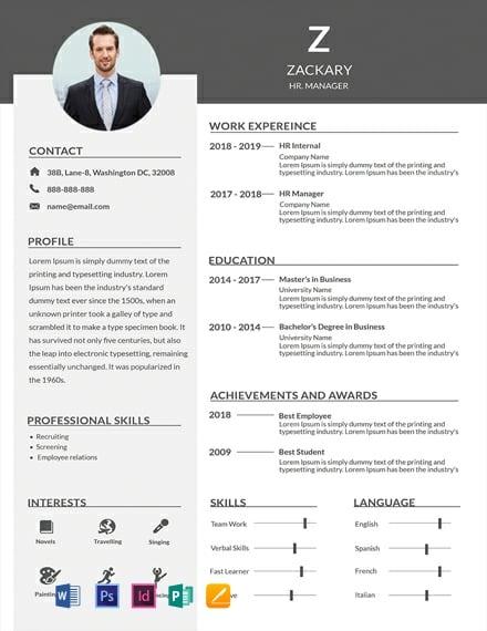 22  free creative resume templates