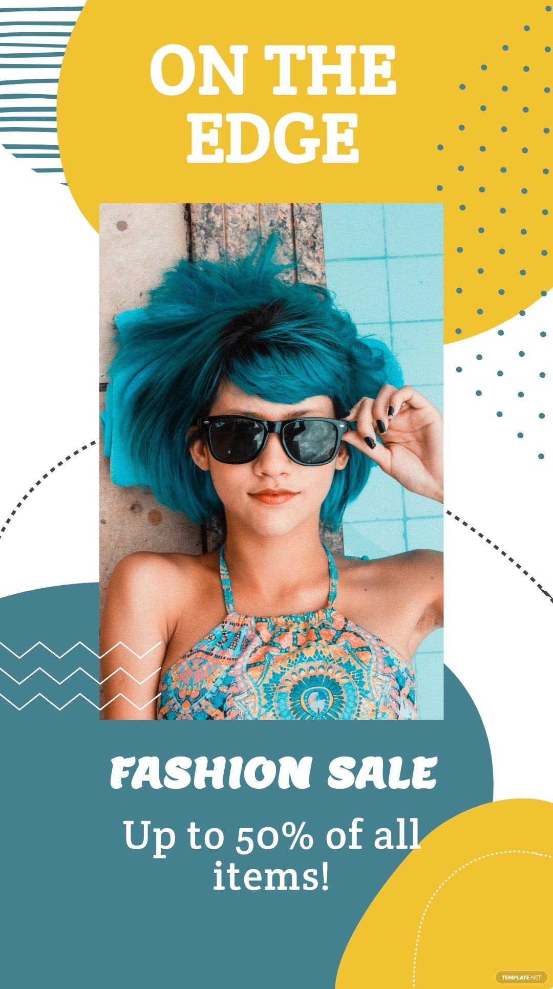 Free Fashion Sale Expo Instagram Story Template