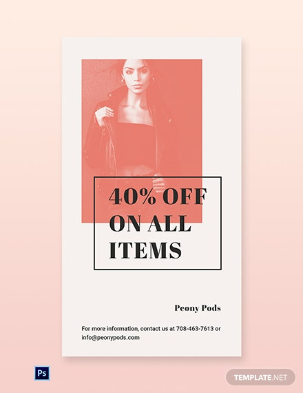 Free Fashion Sale Expo Whatsapp Image Template