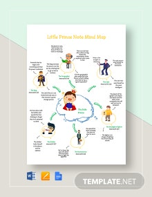 Little Prince Note Mind Map Template