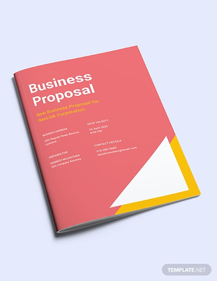 Free New Business Proposal Template