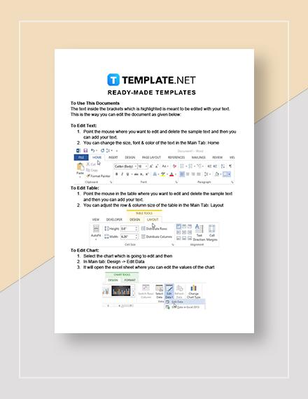 Simple Genogram Instructions