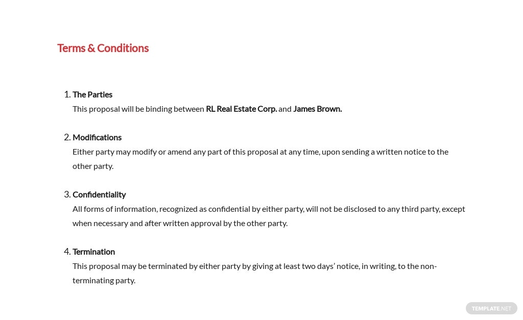Free Real Estate Business Proposal Template 5.jpe