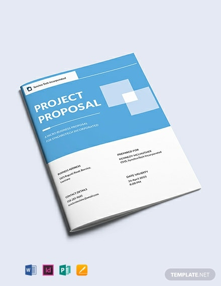 Free Small Business Proposal Template Word Doc Psd