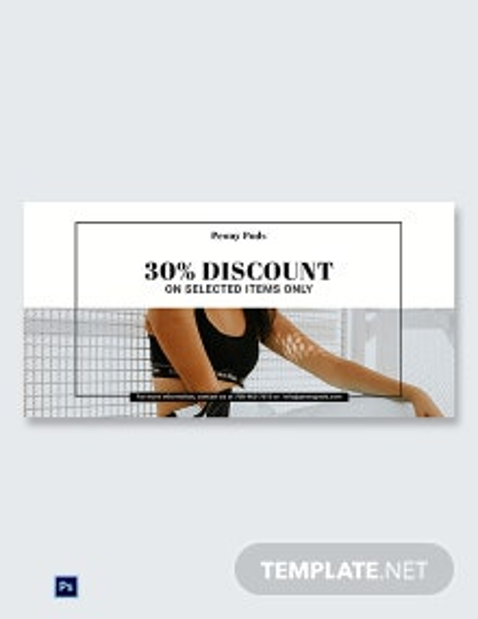 Fashion Big Sale Blog Image Template