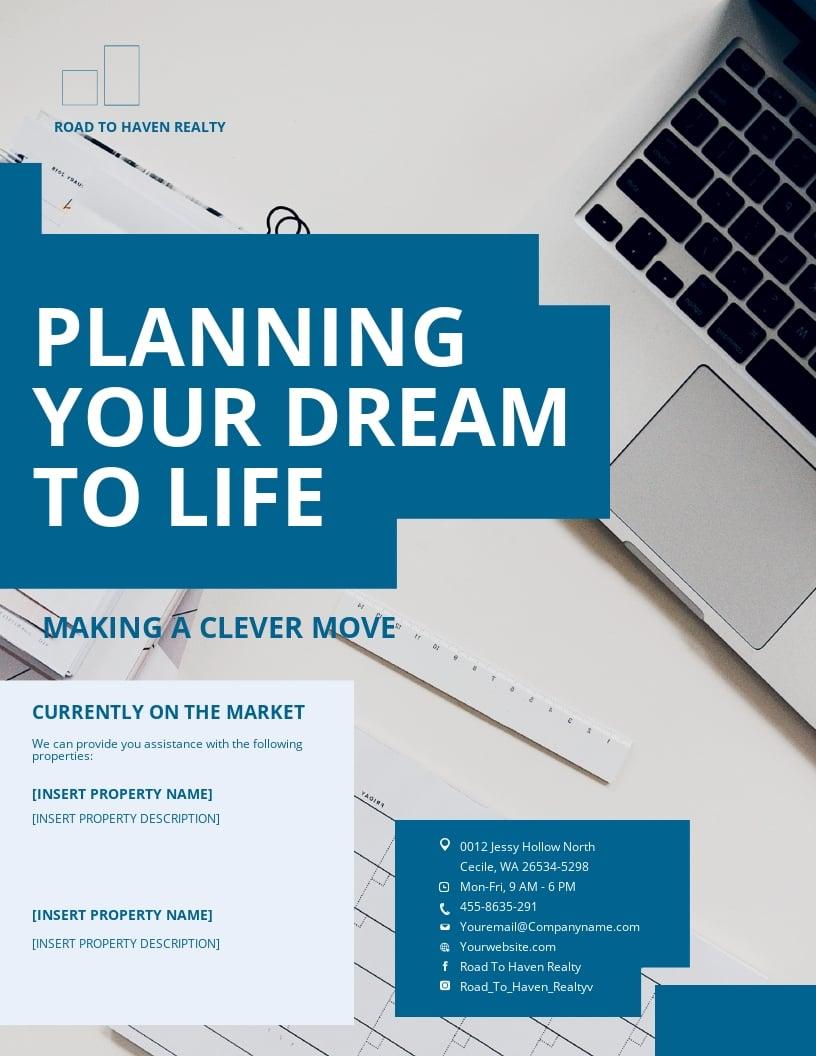 Estate Planning Flyer Template