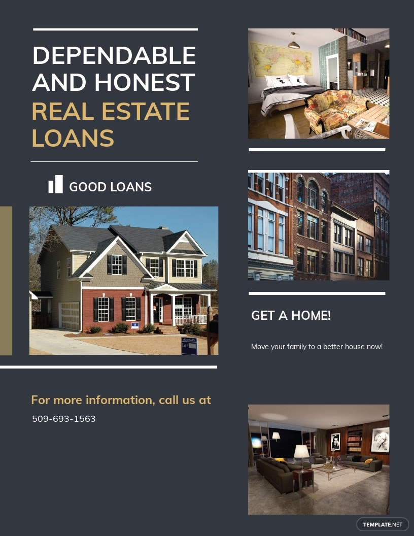 Mortgage Lender Flyer Template