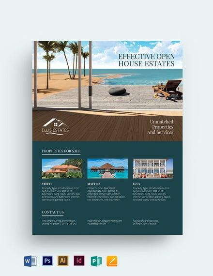 Vacation Rental Sale Flyer