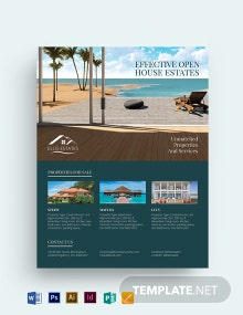 Vacation Rental Sale Flyer Template