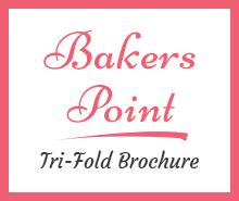 Free Bakery Tri-Fold Brochure Template