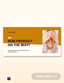 Free Simple Fashion Sale Blog Post Template
