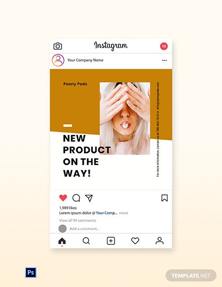 Free Simple Fashion Sale Instagram Post Template