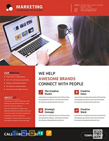 Free Marketing Flyer Template