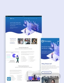 Devapps WordPress Theme/Template