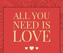 Free Valentine's Day Wine Label Template