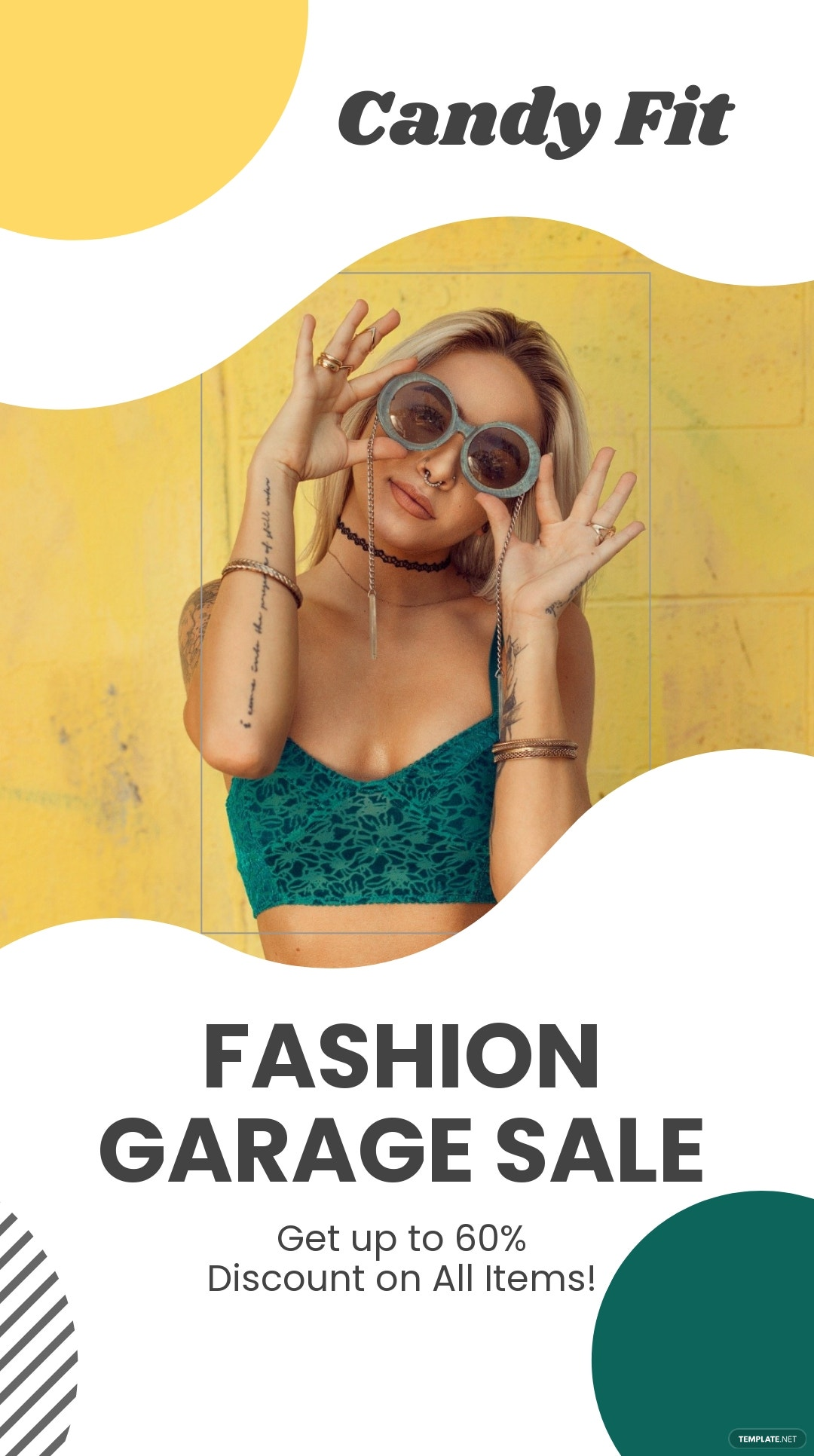 Clean Fashion Sale Instagram Story Template