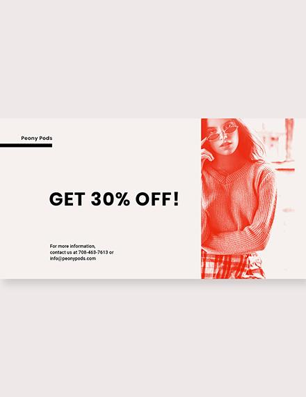 Free Designer Fashion Sale Linkedin Blog Post Download