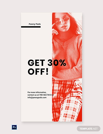 Free Designer Fashion Sale Whatsapp Image Template