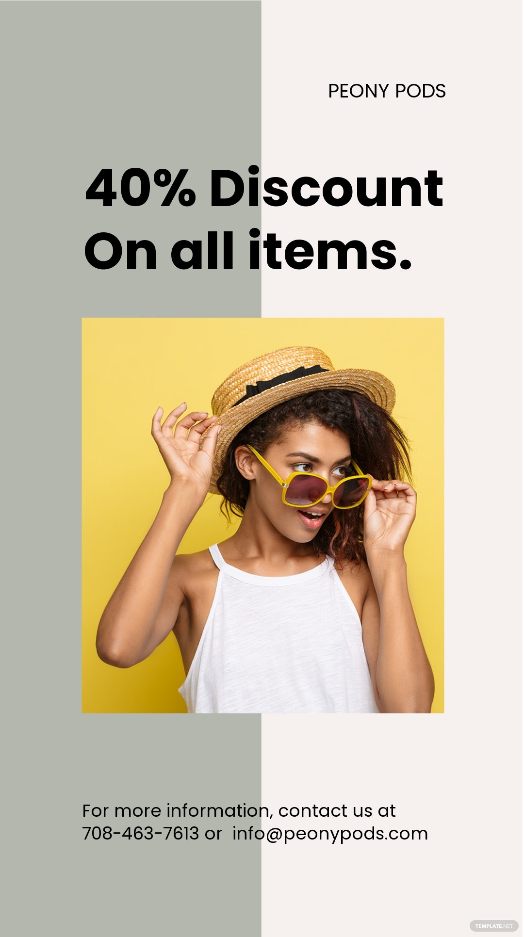 Free Trendy Fashion Sale Instagram Story Template
